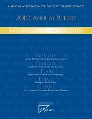 2010 Annual Report - AASLD