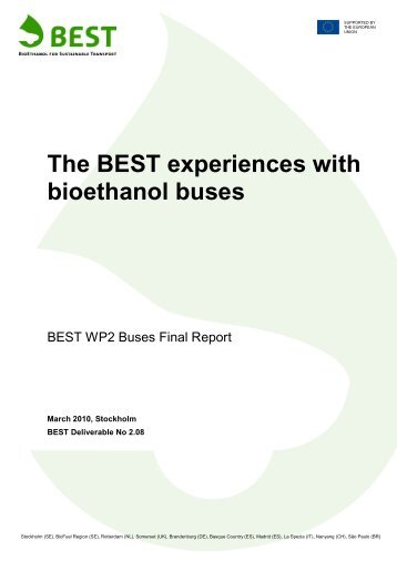 D2.8 The BEST experiences with Bioethanol Buses