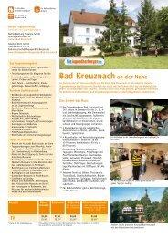 Bad Kreuznach an der Nahe - Jugendherberge