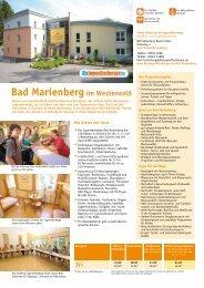 Bad Marienberg im Westerwald - Jugendherberge