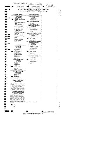 Page 1 OFFICIAL BALLOT Q/,j/i7. ' \/, .J ge / Judge ¿Vv D 'É _ A ...