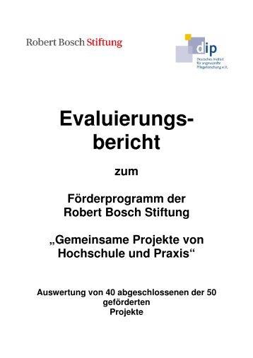 Gemeinsame Projekte von Hochschule und Praxis - Deutsches ...