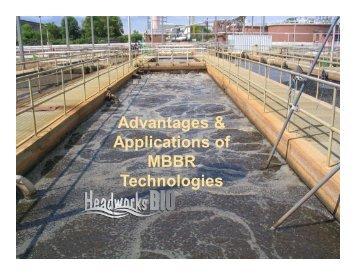 Advantages & Applications of MBBR Technologies - Export.gov