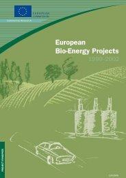 European Bio-Energy Projects
