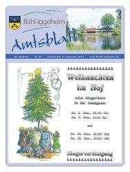 Amtsblatt vom 06.12.2012 (KW 49) - Gemeinde Böhl-Iggelheim
