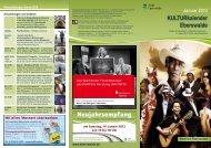 KULTURkalender Eberswalde Januar 2012 - Altstadtcarree ...