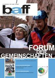baff 4-2008.indd - Bayerisches Jugendrotkreuz
