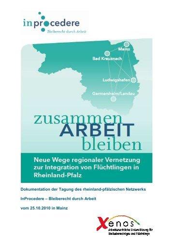 """Dokumentation Tagung """"Zusammen - ARBEIT - Bleiben"""" - InProcedere"""