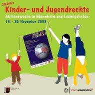 Veranstaltungsprogramm zur Woche der Kinderrechte als PDF-Datei