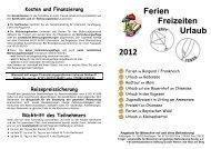 BAFF Freizeitprospekt 2012 korrigierte Endfassung - Lebenshilfe ...