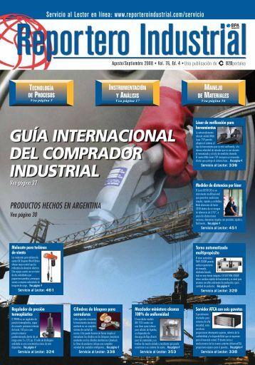 PRODUCTOS HECHOS EN ARGENTINA - Reportero Industrial
