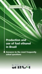Production and use of fuel ethanol in Brazil - BAFF