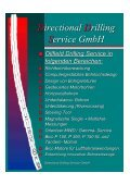 Directional Drilling Service GmbH - DDS: Directional Drilling Service ... - Seite 2