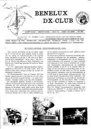 JAARGANG 10, NUMMER 5 (113 ... - Benelux DX Club