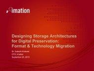 Format & Technology Migration - Digital Preservation