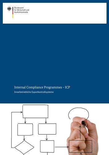 Internal Compliance Programmes – ICP - Ausfuhrkontrolle