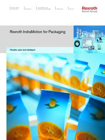 Rexroth IndraMotion for Packaging - Bosch Rexroth