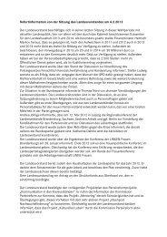 Sofortinfo LV 4-2-2012 - Die Linke. Brandenburg