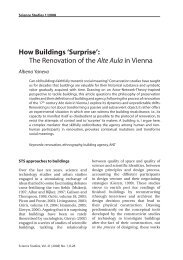 How Buildings 'Surprise': The Renovation of the Alte Aula in Vienna