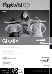 Giselle - Perth International Arts Festival 2009