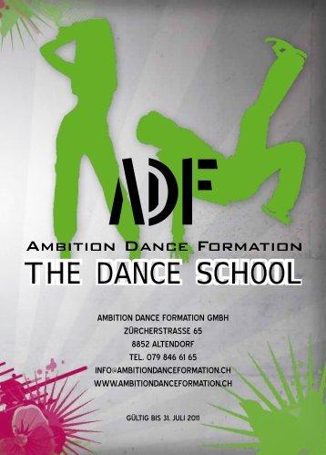 gesChenkgutsCheine - Ambition Dance Formation