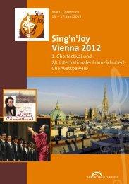 Sing'n'Joy Vienna 2012 - interkultur.com