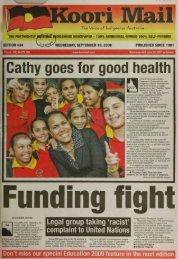 i Cathy goes for good health - aiatsis