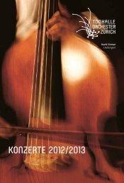 Saison - Tonhalle-Orchester Zürich