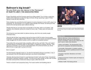 Ballroom's big break - USA Dance