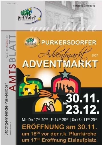 Amtsblatt 387 (2,5 MB) - Purkersdorf