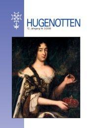 72. Jahrgang Nr. 3/2008 - Deutsche Hugenotten-Gesellschaft eV