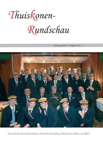 Thuiskonen- Rundschau - Thuiskonia Wien