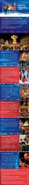 Hallescher Weihnachts- markt - Stadtmarketing Halle