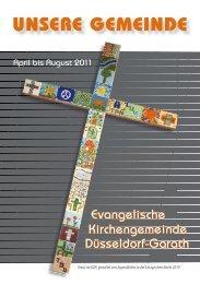Gemeindebrief 2011-1 lesen - Ev. Kirchengemeinde Düsseldorf ...