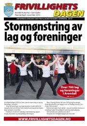 Frivillighetsdagens avis 2010 - Arendal kommune