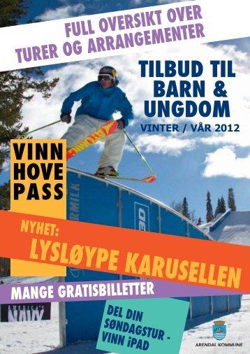 Aktivitetskalender våren 2012 - Arendal kommune