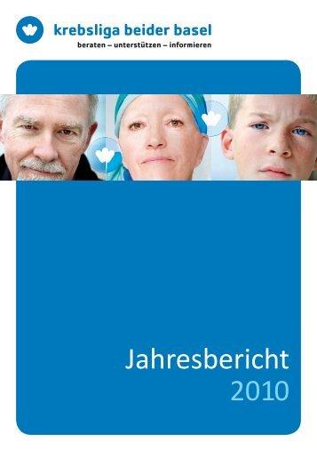 Jahresbericht 2010 - Krebsliga Schweiz