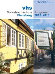 Ralph Caspers - Volkshochschule Flensburg