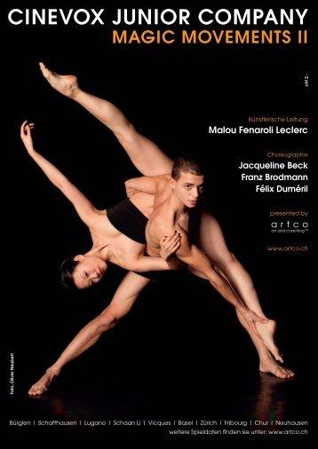 cinevox junior company magic movements ii - DanseSuisse