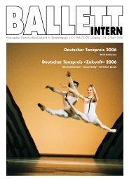 Deutscher Tanzpreis 2006 - Deutscher Berufsverband für ...