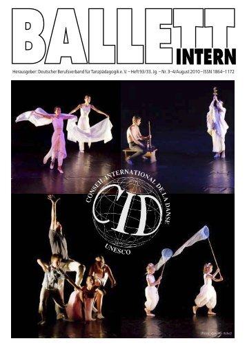 ballettintern - Deutscher Berufsverband für Tanzpädagogik