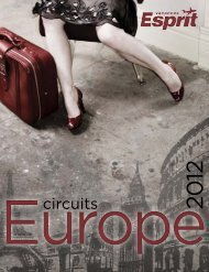 Vacances Esprit Circuits Europe 2012 - Exotik Tours
