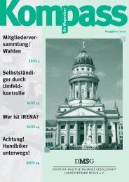 1/ 2007 - Deutschen Multiple Sklerose Gesellschaft