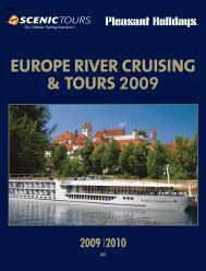 europe river cruising & tours - Pleasant Holidays