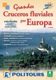 Cruceros Fluviales por Europa y otros 2009 - Viajes Iberoluna, Algo ...
