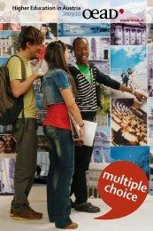 univErsity oF AppliED sCiEnCEs - Austrian American Educational ...