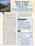 TenTATive iTinerArY FOr AlASKA cruiSe - Senior Tours Canada - Page 4