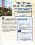 TenTATive iTinerArY FOr AlASKA cruiSe - Senior Tours Canada - Page 6