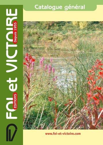 Catalogue 2008 (Pdf 3Mo) - Foi Et Victoire
