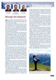 Rapport annuel 2011 - Verbier